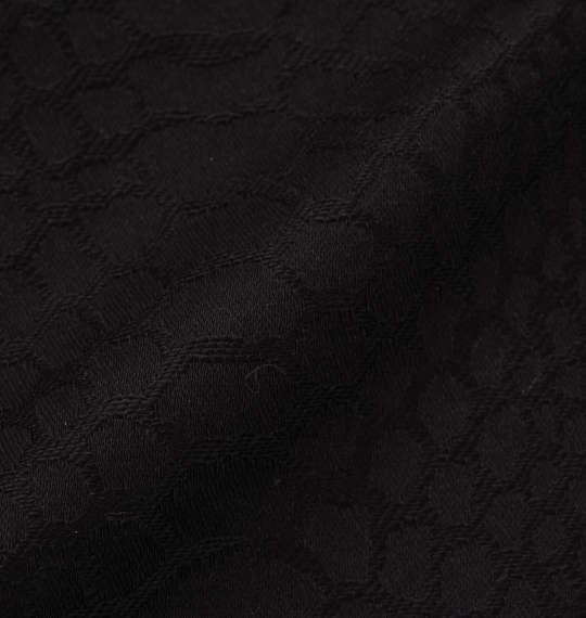 大きいサイズ メンズ 絡繰魂 三連ポケット パイソン ジャガード ハーフパンツ ブラック 1154-6222-1 100 110 120 130