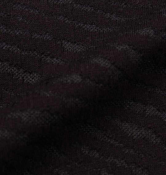 大きいサイズ メンズ 絡繰魂 ゼブラ ジャガード 鯉 刺繍 半袖 ポロシャツ アニマル ブラック 1158-6506-1 3L 4L 5L 6L 8L