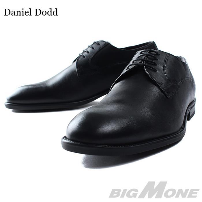 大きいサイズ メンズ DANIEL DODD 本革 プレーントゥ ビジネスシューズ azbs-169002