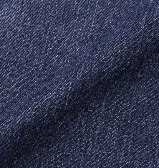 大きいサイズ メンズ in the attic UK切替ダメージデニムハーフパンツ ズボン ボトムス パンツ 短パン ネイビー 1154-6251-2 100 110 120 130