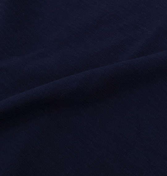 大きいサイズ メンズ Free gate スラブ 天竺 パネル 切替 半袖 Tシャツ 半袖Tシャツ ネイビー 1158-6540-2 3L 4L 5L 6L 8L