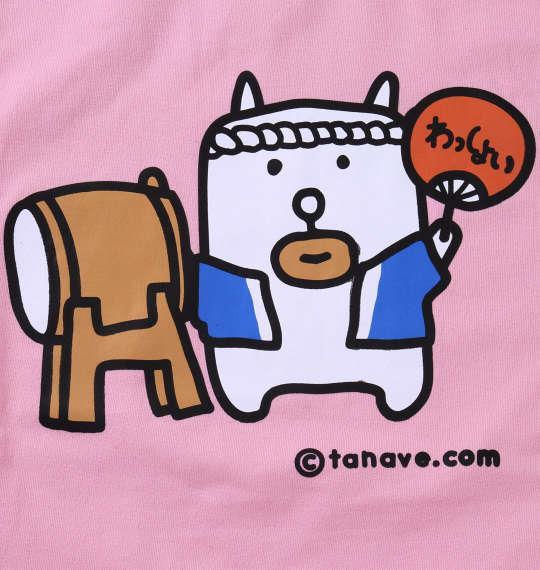 大きいサイズ メンズ わもっちー おまつり半袖Tシャツ ピンク 1178-6560-1 3L 4L 5L 6L