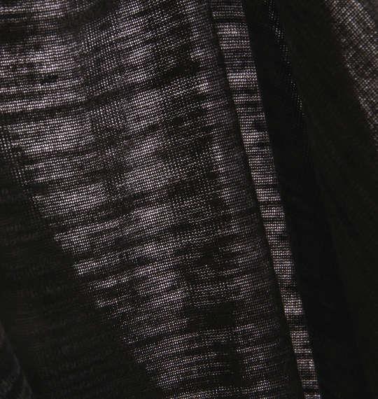 大きいサイズ メンズ Beno AB 杢 半袖 Vネック Tシャツ 半袖Tシャツ ブラック 1158-6565-2 3L 4L 5L 6L