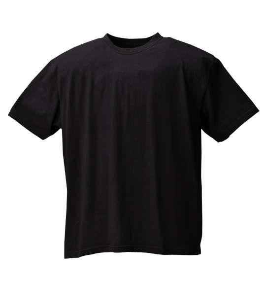 大きいサイズ メンズ Mc.S.P 半袖 クルーネック Tシャツ 半袖Tシャツ ブラック 1158-6590-2 3L 4L 5L 6L 8L 10L