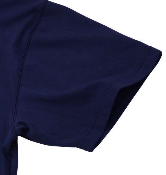 大きいサイズ メンズ Mc.S.P 半袖 クルーネック Tシャツ 半袖Tシャツ ネイビー 1158-6590-3 3L 4L 5L 6L 8L 10L