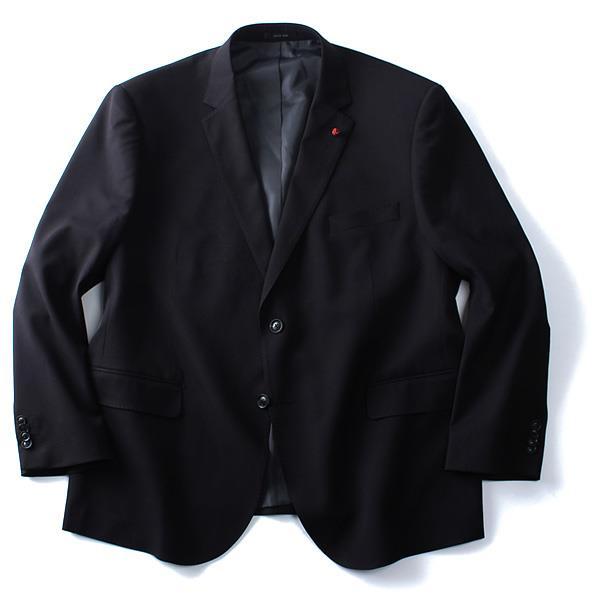 大きいサイズ メンズ DANIEL DODD セットアップ 紺 黒ブレザー azjk-1622