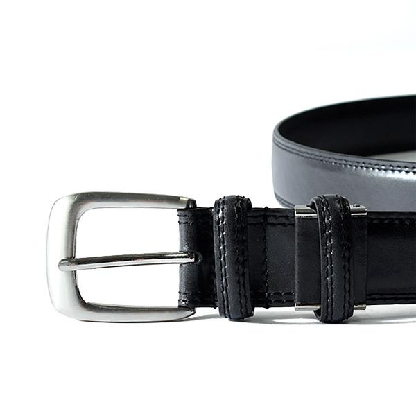 大きいサイズ メンズ SARTORIA BELLINI イタリアン レザー ビジネス ロングベルト ロングサイズ azbl-041l