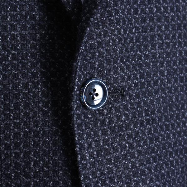 大きいサイズ メンズ SARTORIA BELLINI ウール混2ツ釦ジャケット azjk-1626