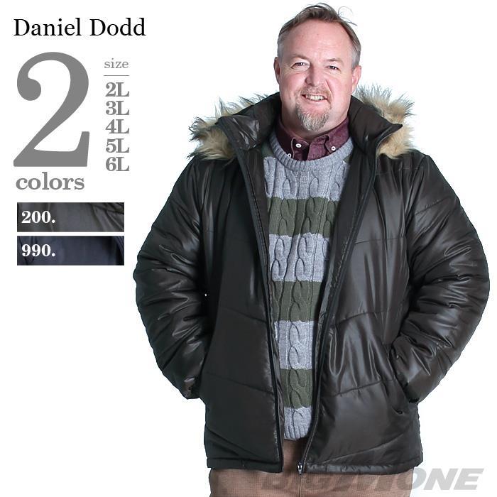 大きいサイズ メンズ DANIEL DODD シレーフーデッド中綿ブルゾン azb-1324