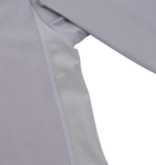 大きいサイズ メンズ Phiten コンプレッション ハイネック 長袖 Tシャツ 長袖Tシャツ グレー 1149-6300-1 3L 4L 5L 6L 8L
