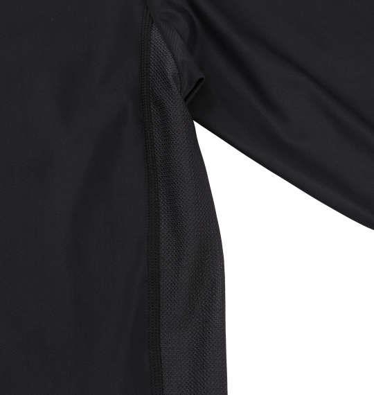 大きいサイズ メンズ Phiten コンプレッション ハイネック 長袖 Tシャツ 長袖Tシャツ ブラック 1149-6300-2 3L 4L 5L 6L 8L