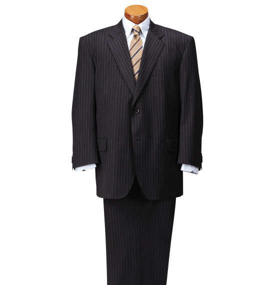 大きいサイズ メンズ MICHIKO LONDON KOSHINO シングル 2ツ釦 スーツ チャコール 1152-6301-2 4L 5L 6L 7L 8L