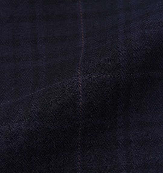 大きいサイズ メンズ Dominate ヘリンボン ストレッチ チェックパンツ ズボン ボトムス パンツ ネイビー 1154-6331-1 3L 4L 5L 6L 7L 8L