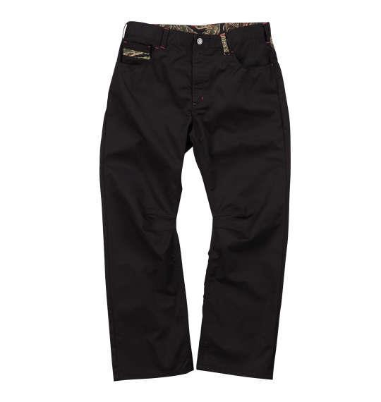 大きいサイズ メンズ RIMASTER カモフラ 切替 MA-1 ポケットパンツ ズボン ボトムス パンツ ブラック 迷彩 1154-6340-2 100 110 120 130 140 150 160
