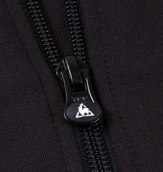 大きいサイズ メンズ LE COQ SPORTIF ウォームアップジャケット アウアー ジャンパー ジャケット ブラック 1176-6302-2 3L 4L 5L 6L