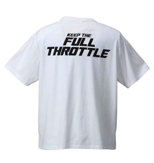 大きいサイズ メンズ 新日本プロレス 棚橋弘至「BURN MY ALL ENERGY」半袖Tシャツ ホワイト 1178-6330-1 3L 4L 5L 6L 8L