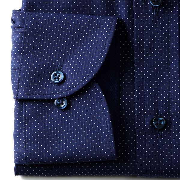 2点目半額 大きいサイズ メンズ DISFIDA 長袖 Yシャツ ビジネス 長袖 ワイシャツ ボタンダウンシャツ シングル 46717