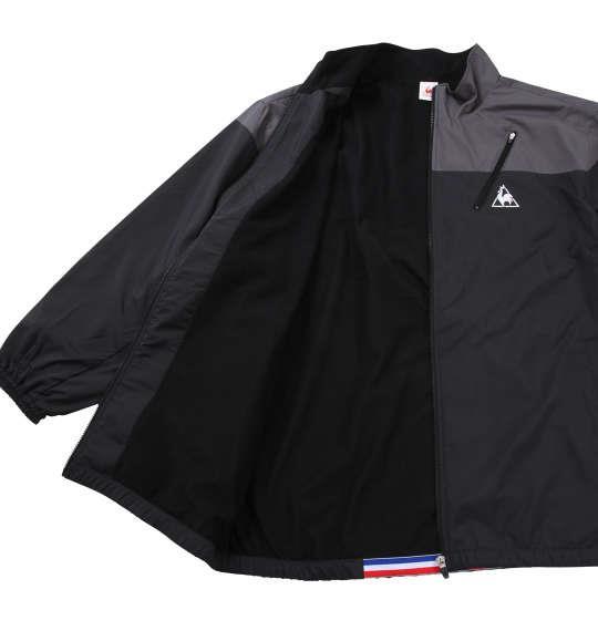 大きいサイズ メンズ LE COQ SPORTIF ウインドジャケット 長袖 アウター ジャケット ブラック 1173-6310-2 3L 4L 5L 6L