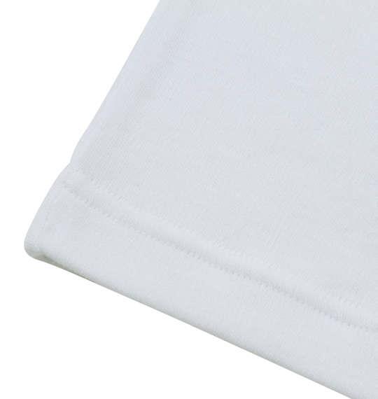 大きいサイズ メンズ Heatchanger 長袖 Vネック Tシャツ 長袖Tシャツ ホワイト 1149-6350-1 3L 4L 5L 6L 8L
