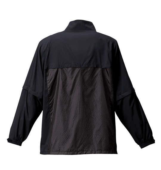 大きいサイズ メンズ TaylorMade フルジップ ウインドジャケット 長袖 アウター ジャケット ブラック 1173-6350-2 4XO 5XO 6XO