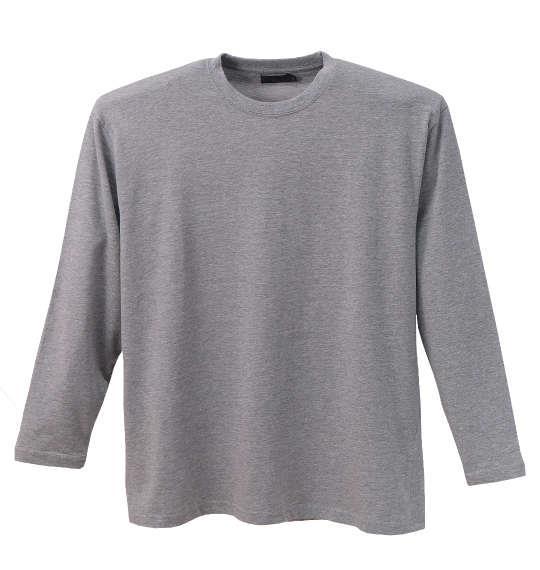 大きいサイズ メンズ Mc.S.P 消臭テープ付 長袖 Tシャツ 長袖Tシャツ モクグレー 1158-5621-4 3L 4L 5L 6L 8L