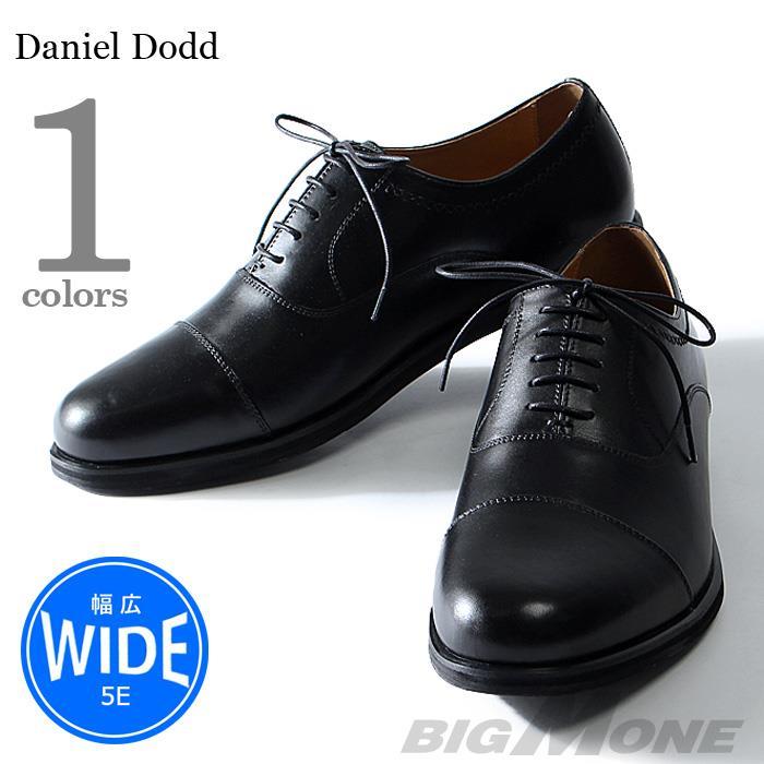 大きいサイズ メンズ DANIEL DODD 本革 ストレートチップ ビジネスシューズ 5E azbs-179006