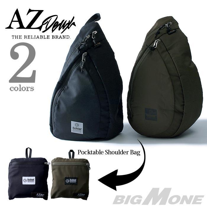 大きいサイズ メンズ AZ DEUX ポケッタブルショルダーバッグ 714-179031