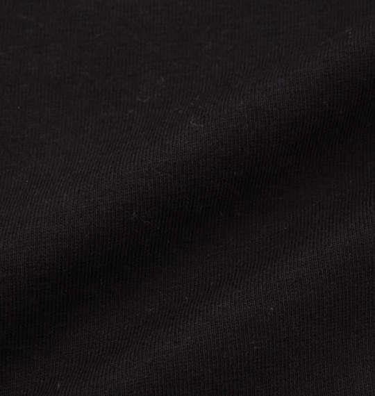 大きいサイズ メンズ BEN DAVIS 長袖Tシャツ ブラック 1178-7100-2 3L 4L 5L 6L