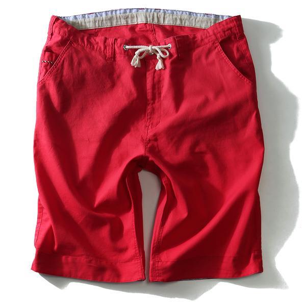 大きいサイズ メンズ DANIEL DODD ボトムス パンツ 麻混 スピンドル使い ショートパンツ ズボン azsp-1415