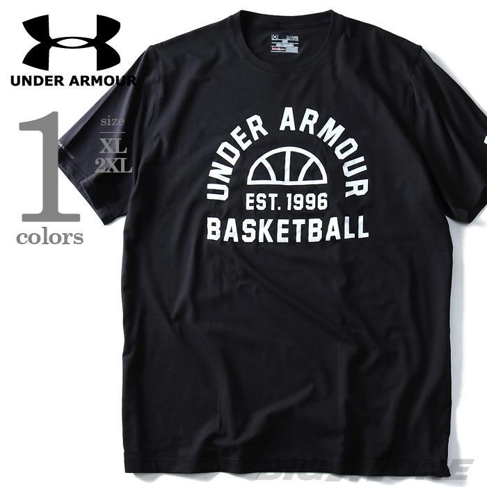 大きいサイズ メンズ UNDER ARMOUR アンダーアーマー 半袖 Tシャツ プリント 半袖Tシャツ スポーツウェア USA 直輸入 1288005