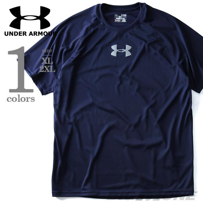大きいサイズ メンズ UNDER ARMOUR アンダーアーマー 半袖 Tシャツ プリント 半袖Tシャツ スポーツウェア USA 直輸入 1276298