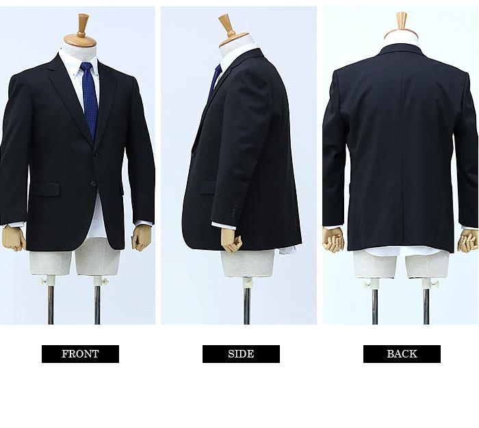 大きいサイズ メンズ ILFAVORITO 多機能性 2ツ釦 スーツ ストレッチ オールシーズン ウォッシャブル ビジネススーツ リクルートスーツ 47102310