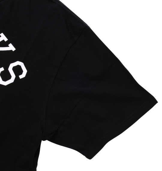 大きいサイズ メンズ launching pad カラー 分解 プリント 半袖 Tシャツ 半袖Tシャツ ブラック 1158-7224-2 3L 4L 5L 6L