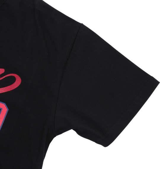 大きいサイズ メンズ H by FIGER 半袖 Tシャツ 半袖Tシャツ ブラック 1168-7271-2 3L 4L 5L 6L 8L