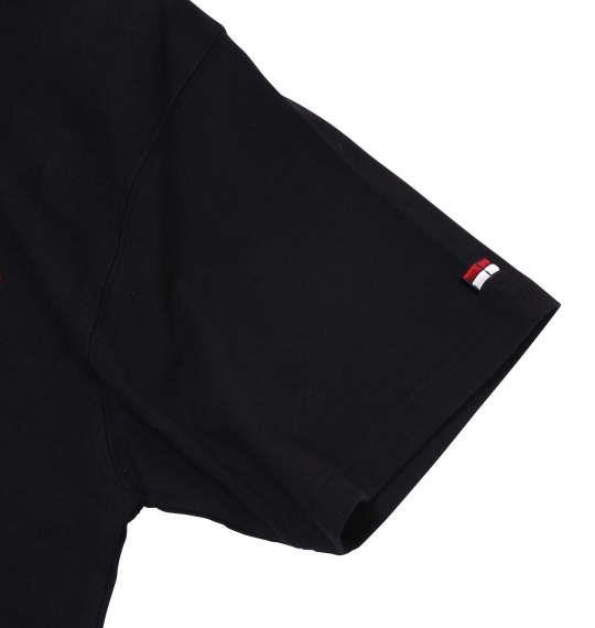 大きいサイズ メンズ H by FIGER 半袖 ラガーシャツ ブラック 1168-7273-2 3L 4L 5L 6L 8L