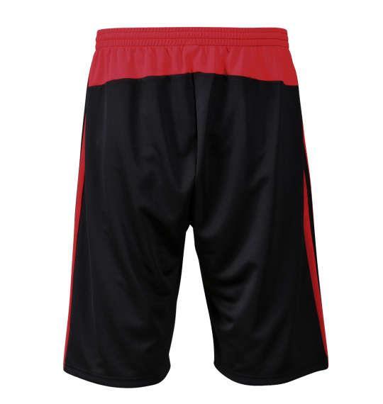大きいサイズ メンズ adidas ハーフパンツ ボトムス ズボン パンツ 短パン ブラック 1174-7220-2 3XO 4XO 5XO 6XO 7XO 8XO