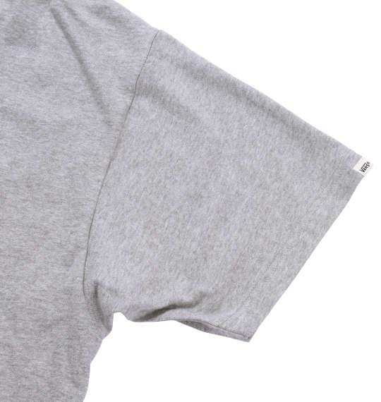 大きいサイズ メンズ VANS 半袖Tシャツ モクグレー 1178-7201-1 3L 4L 5L 6L