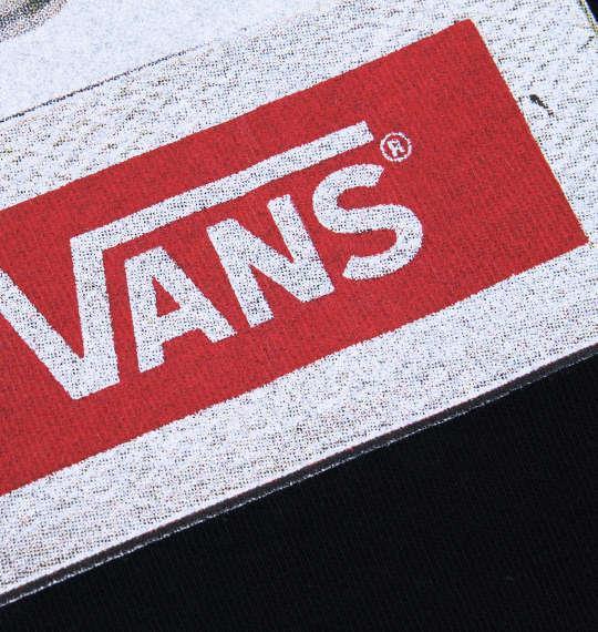 大きいサイズ メンズ VANS 半袖Tシャツ ブラック 1178-7201-2 3L 4L 5L 6L