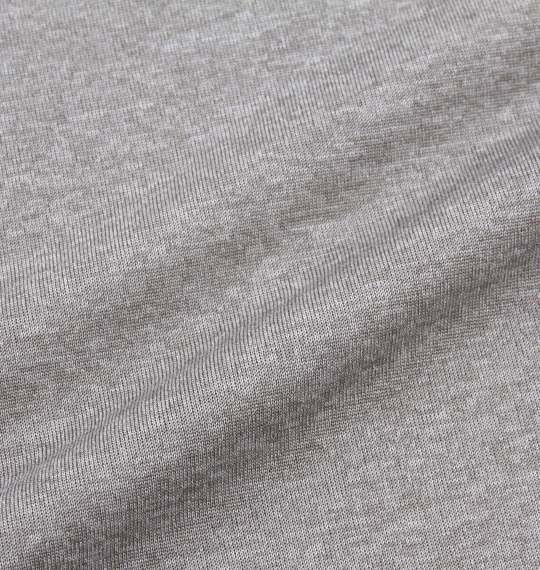 大きいサイズ メンズ Marmot ヘザーマーモットロゴ半袖Tシャツ グレーストーム 1178-7205-1 3L 4L 5L 6L