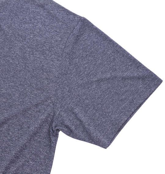 大きいサイズ メンズ Marmot ヘザーマーモットロゴ半袖Tシャツ クラシックネイビー 1178-7205-2 3L 4L 5L 6L