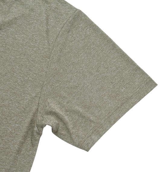 大きいサイズ メンズ Marmot ヘザーカウボーイキャンプ半袖Tシャツ ライトカーキ 1178-7206-3 3L 4L 5L 6L