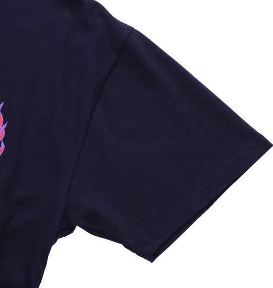 大きいサイズ メンズ THRASHER 半袖Tシャツ ネイビー 1178-7256-1 3L 4L 5L 6L 8L