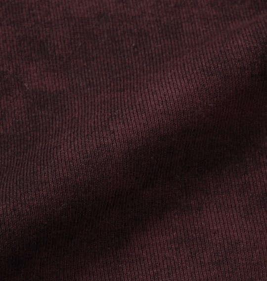 大きいサイズ メンズ in the attic タイダイ プリント 半袖 ポロシャツ ボルドー × ブラック 1158-7286-2 3L 4L 5L 6L