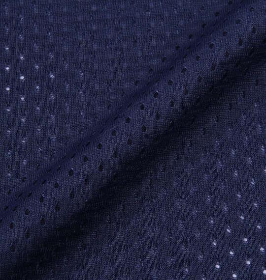 大きいサイズ メンズ Majestic メッシュベースボールシャツ ネイビー 1178-7517-1 3L 4L 5L 6L