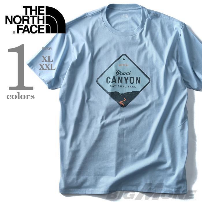 大きいサイズ メンズ THE NORTH FACE ザ ノース フェイス 半袖 プリント Tシャツ CANYON USA 直輸入 nf0a34xqefv