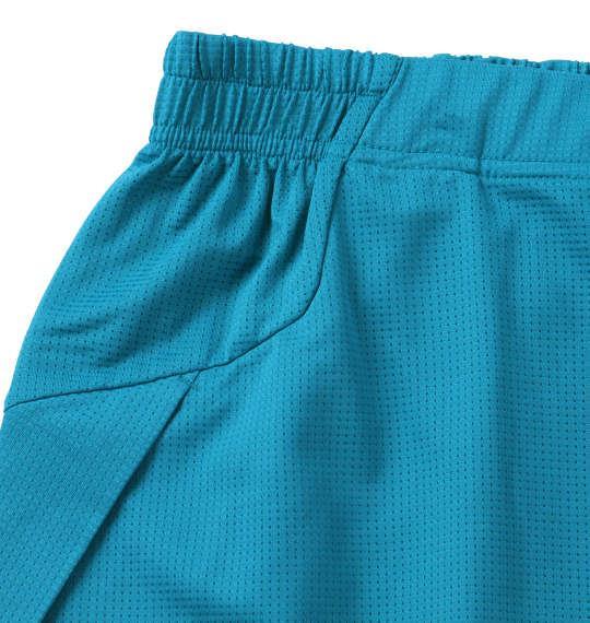 大きいサイズ メンズ DESCENTE ブリーズプラス ハーフパンツ ボトムス ズボン パンツ 短パン ブルー 1174-7210-3 3L 4L 5L 6L