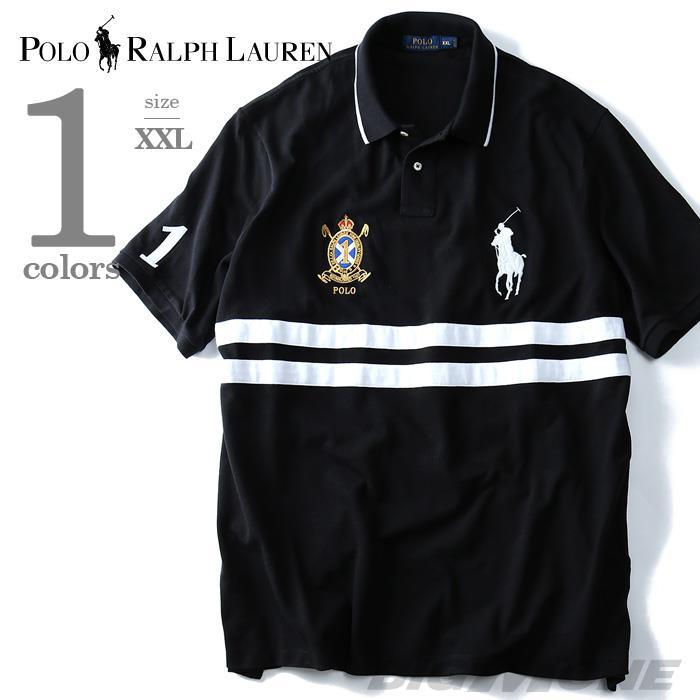 大きいサイズ メンズ POLO RALPH LAUREN (ポロ ラルフローレン) 半袖ビッグポニー鹿の子ポロシャツ CLASSIC FIT (1) USA直輸入 710-660726-00