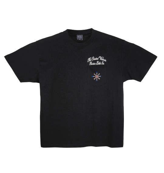 大きいサイズ メンズ SHELTY スタッズ ポケット付 半袖 Tシャツ 半袖Tシャツ ブラック 1158-7248-1 3L 4L 5L 6L