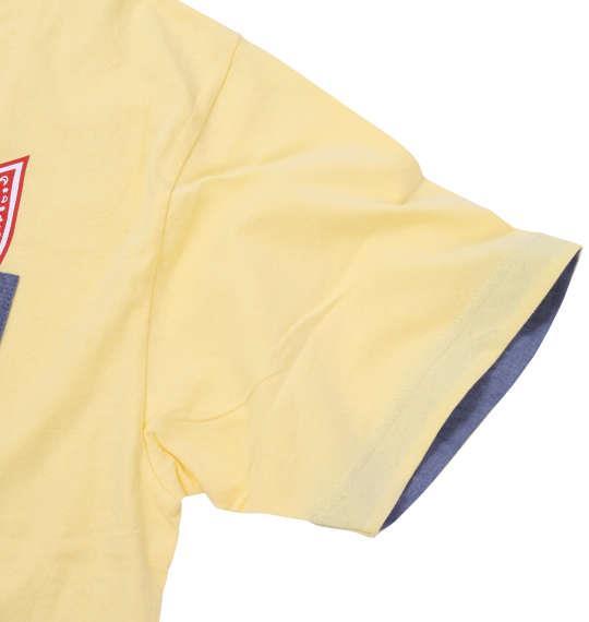 大きいサイズ メンズ MODISH GAZE おもしろポケット 半袖 Tシャツ 半袖Tシャツ イエロー 1158-7253-1 3L 4L 5L 6L