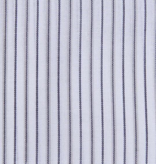 大きいサイズ メンズ HIROKO KOSHINO HOMME マイターB.D半袖シャツ ホワイト × ネイビー 1177-7217-1 3L 4L 5L 6L 7L 8L